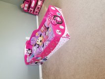 Beautiful Minnie Mouse toddler bed with mattress and bedding! in Tacoma, Washington
