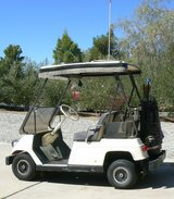Golf cart in Yucca Valley, California