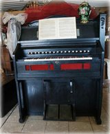 antique pump organ fully functional with matching stool in Stuttgart, GE