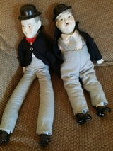 Laurel and Hardy dolls in Naperville, Illinois