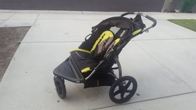Running stroller in Camp Pendleton, California