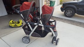 Stroller, front and back in Camp Pendleton, California