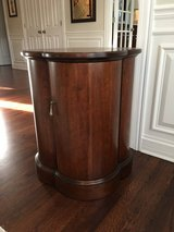 Solid Wood Quatrefoil Side Table by Hickory Chair - Chocolate Brown in Chicago, Illinois