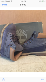 """Timberlands 6""""-Size 7 in Lockport, Illinois"""