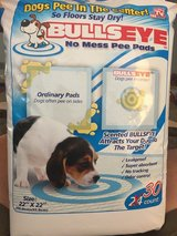 Bullseye Pee Pads 30 count Never Opened in Naperville, Illinois