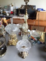 Fancy crystal glass candy dishes in Travis AFB, California