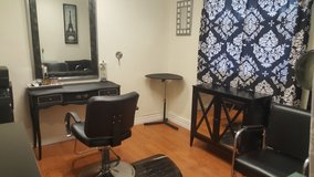 Hairstylist station for rent half off first months rent! in Travis AFB, California