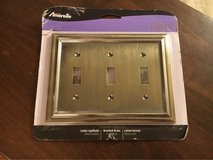 New Triple Switchplate in Chicago, Illinois