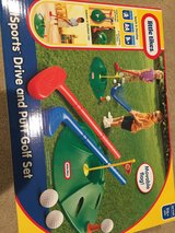 Little Tikes Drive and putt golf set in Travis AFB, California