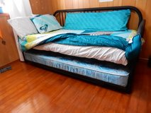 Twin Sized Day Bed and Trundle Bed in Okinawa, Japan