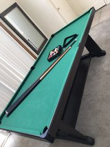 Pool Table Set Converts to Ping Pong Table in Travis AFB, California