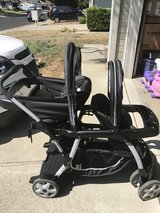 Graco baby ready2go click connect start and ride stroller in Travis AFB, California