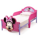 Minnie Mouse 3D Toddler Bed with crib mattress - like new in Tacoma, Washington