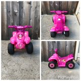 Disney princess 6V battery powered ride-on quad in Travis AFB, California