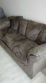 Microfiber Couch and Loveseat in Camp Lejeune, North Carolina