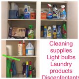 light bulbs, cleaning supplies, laundry products in Travis AFB, California