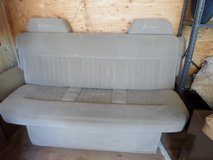 Full size Van/camper bench seat folds open to make large sleeper bed in Alamogordo, New Mexico