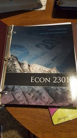 Econ 2301 Textbook in Kingwood, Texas