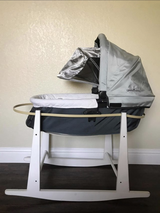 Uppababy bassinet and jolly jumper set in Travis AFB, California