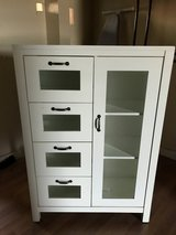 White storage with cabinet in Travis AFB, California