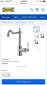 Kitchen Faucet in Travis AFB, California