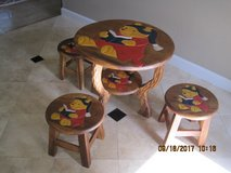 Winnie The Pooh Toddler's Table And 3 Stools in Travis AFB, California