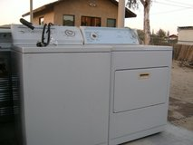 washer & dryer in Yucca Valley, California