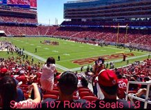 49ers vs Rams 9/21/17 in Travis AFB, California