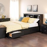 QUEEN PLATFORM BED in Camp Lejeune, North Carolina