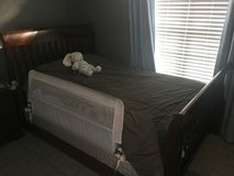 Crib/bed/toddler bed, dresser, and nightstand in Camp Lejeune, North Carolina