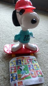 Snoopy Joe Cool Skateboard-McDonald's Happy Meal Europe in Joliet, Illinois