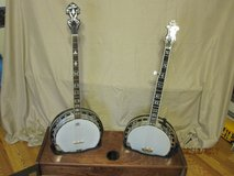 Tyler Mountain Professional 4 String Plectrum Banjo TMP-85 and Recording King 5 string RK-R80 wi... in Alamogordo, New Mexico