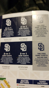Padres tickets in Camp Pendleton, California