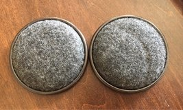2 Carpet Base Metal Cups in Yorkville, Illinois