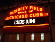 Chicago Cubs at Milwaukee Brewers in Naperville, Illinois