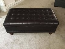 Leather Ottoman in Fort Lewis, Washington