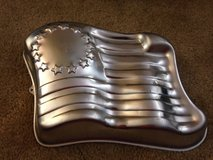 Walton flag cake pan in Lawton, Oklahoma