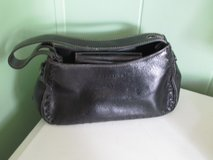 Black Leather Kenneth Cole Reaction Purse in Orland Park, Illinois