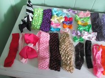 Bag of 25 Clip-On Bows & 30 Headbands in Orland Park, Illinois