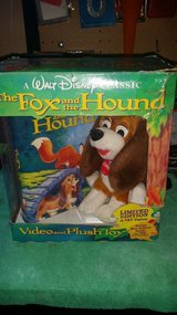 The Fox and the Hound vhs and Copper plush in Lockport, Illinois