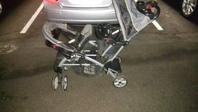 Double stroller in Camp Pendleton, California