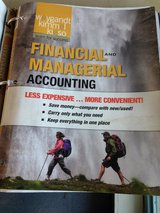 ACCT2301 Financial & Managerial Account Central Texas/Park University in Camp Lejeune, North Carolina