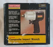 "Craftsman 1/2"" Impact Wrench (NEW) in Fort Riley, Kansas"