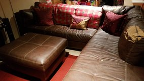 sofa sectional OTTOMAN NO LONGER AVAILABLE in Naperville, Illinois