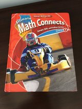 6th Grade Naperville District 203 Math Textbook (from 2016-2017 school year) in Westmont, Illinois