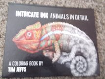 I NTRICATE INK ANIMAL COLORING BOOK NEW in Alamogordo, New Mexico