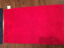 """Kids Small Area Rug - Bright Red Thick Loop 30"""" x 50"""" in Aurora, Illinois"""