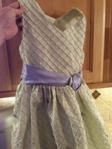 girl's size 6 dress...lavender and light green--Super cute!! in Pasadena, Texas