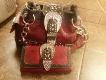 Bling purse and wallet set in Pasadena, Texas