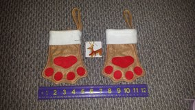 Pet Holiday Stockings or Ornaments (2 available) in Chicago, Illinois
